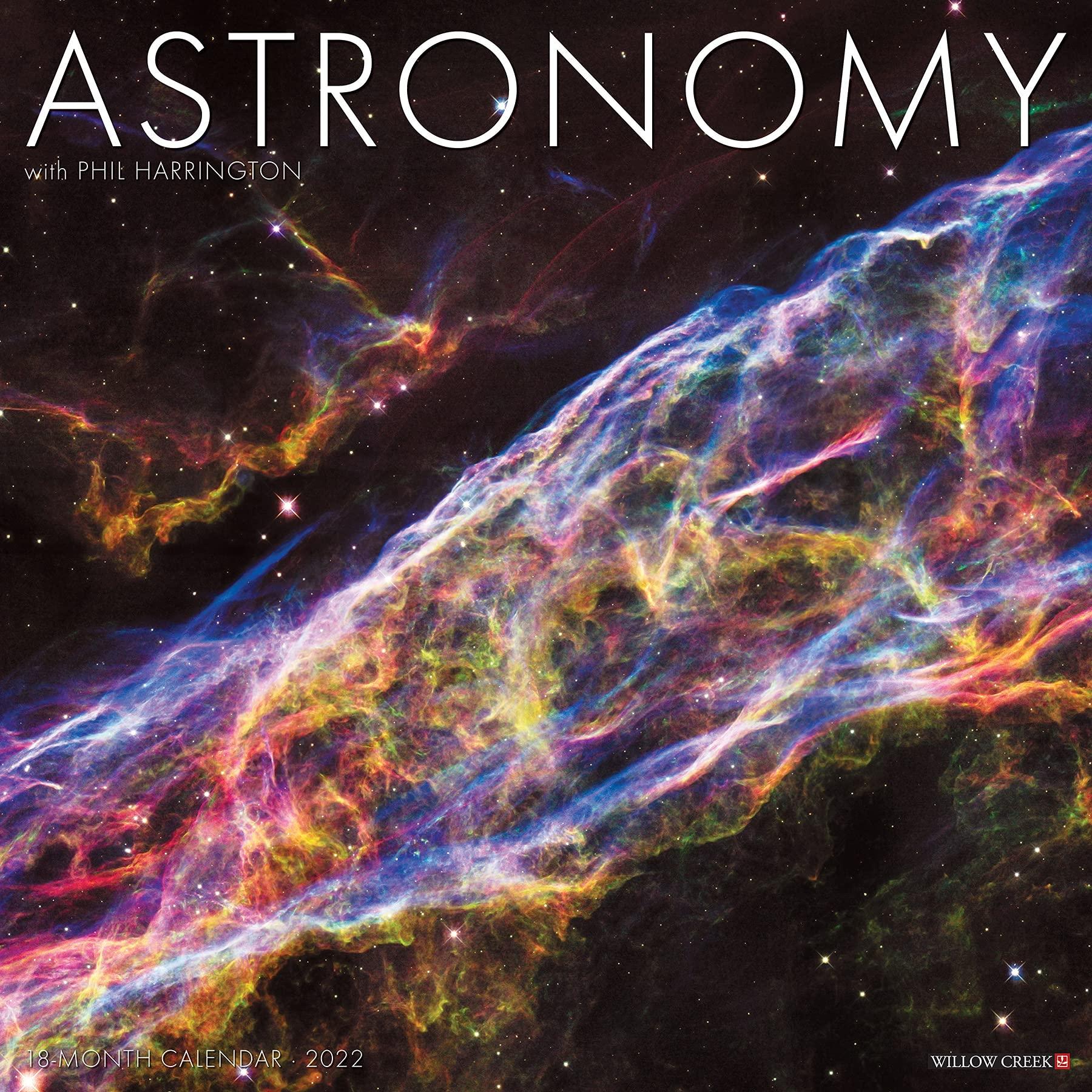 Astronomy Calendar 2022.Astronomy 2022 Wall Calendar Willow Creek Press 9781549216701 Amazon Com Books