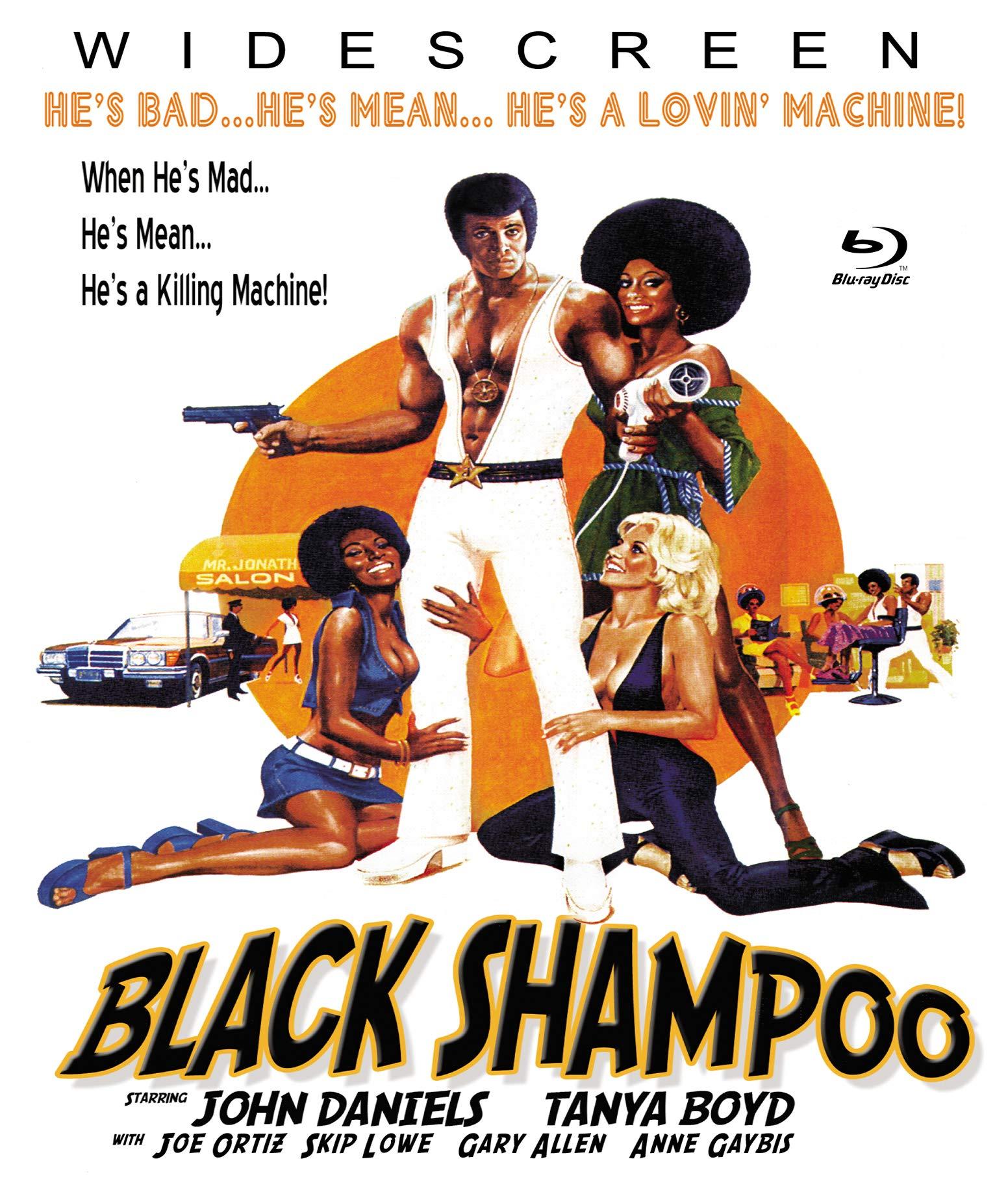 Blu-ray : Black Shampoo (With DVD)