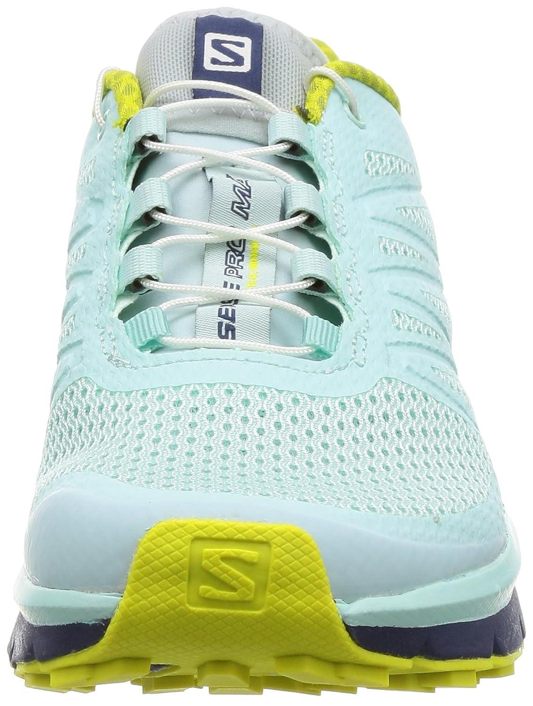 Salomon Women's Sense Pro Max Manmade, Mesh Trail Running US Fair Sneakers B01HD23P18 8.5 B(M) US Fair Running Aqua, Crown Blue, Sulphur Spring 8173bf