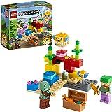 21164 LEGO® Minecraft™ O Recife de Coral, Kit de Construção (92 peças)