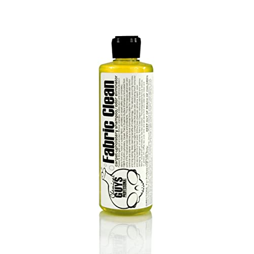 Chemical Guys CWS 103 16 Fabric Clean Carpet And Upholstery Shampoo Odor Eliminator Oz