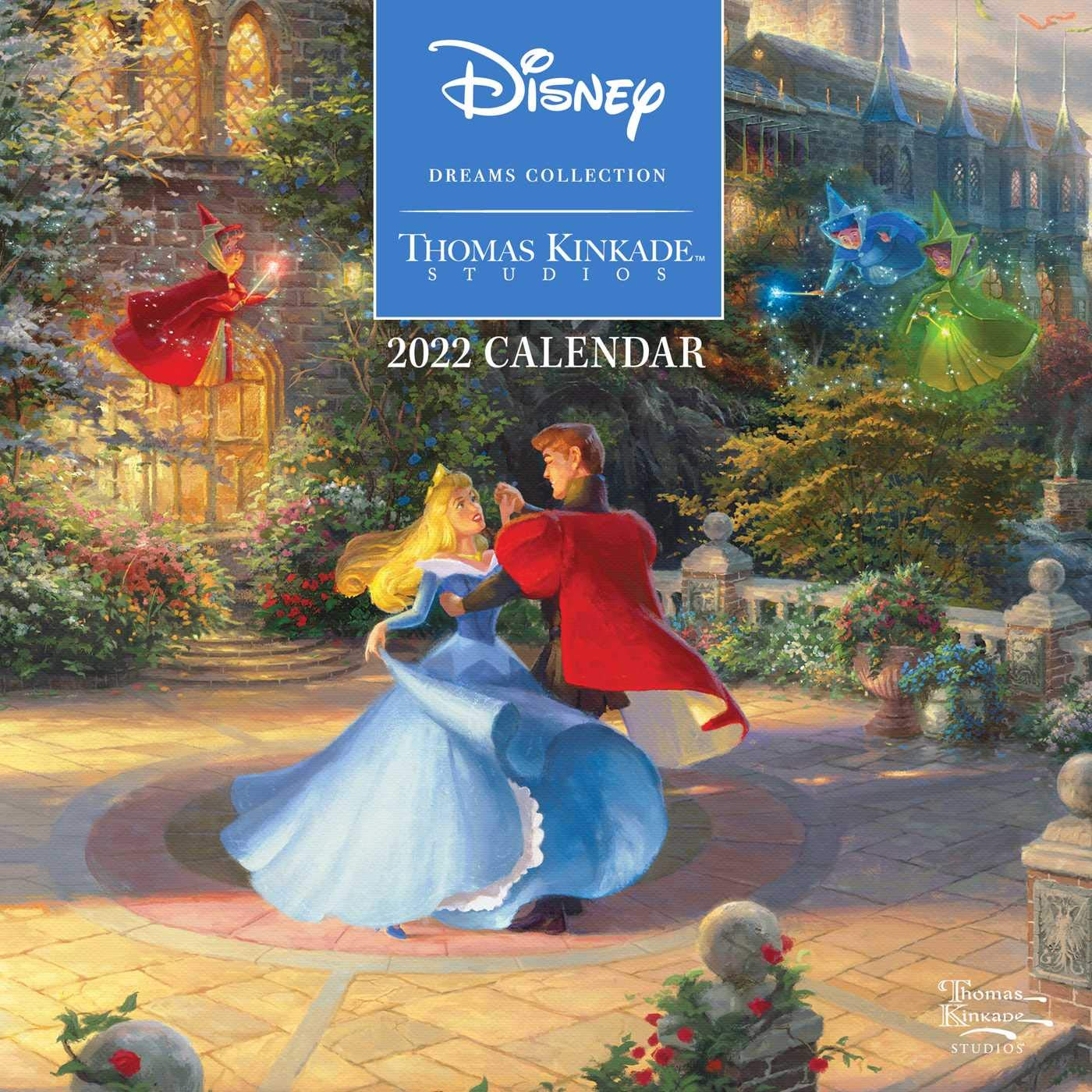 Image for Disney Dreams Collection by Thomas Kinkade Studios: 2022 Mini Wall Calendar