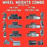 CWA-025a Harzole MC-025 1BOX 80pcs 1//4 oz Lead Free MC Type Wheel Weight 50pcs CWA-025a