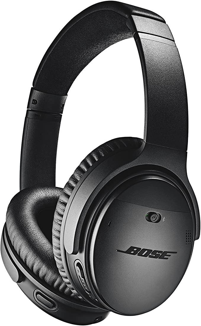 Amazon.com: Bose QuietComfort 35 II Wireless Bluetooth Headphones, Noise-Cancelling, with Alexa voice control - Black: Electronics