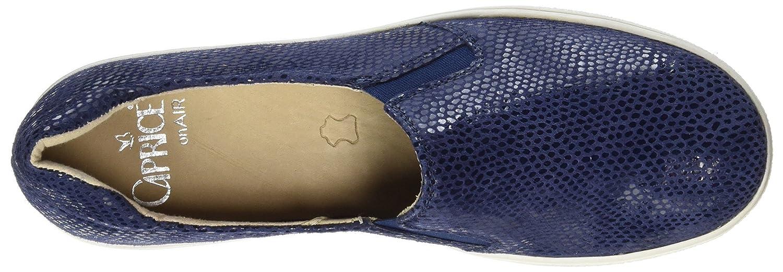 Caprice 24662 Reptile) Damen Slipper Blau (Ocean Reptile) 24662 1a4a04