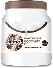 Biona Organic Raw Virgin Coconut Oil, 1.2 kg