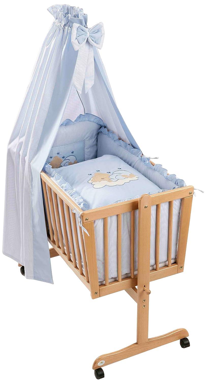 Easy Baby Wiegenset - Sleeping Bear Blau