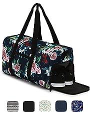Sac de sport élégant Ela Mo's avec compartiment chaussures - 38l - bagages à main - pour les hommes et les femmes - dans 6designs tendance