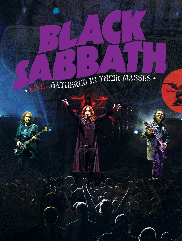 Blu-ray : Black Sabbath - Black Sabbath Live: Gathered in Their Masses
