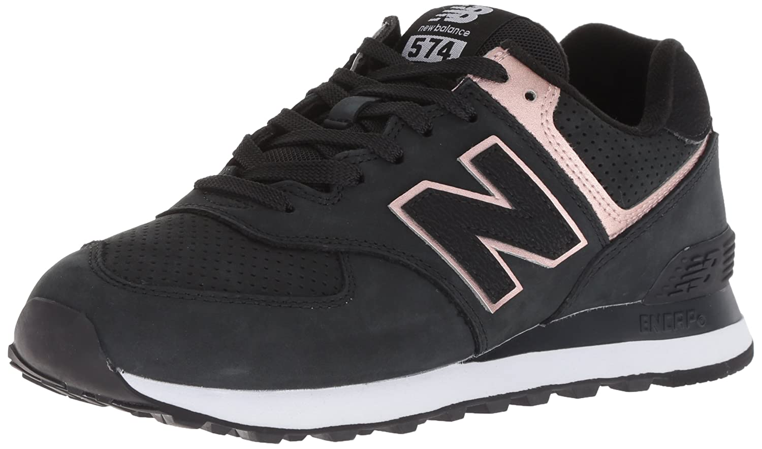 New Balance Women's Wl574v2 B075R6VHJ9 9 M US|black