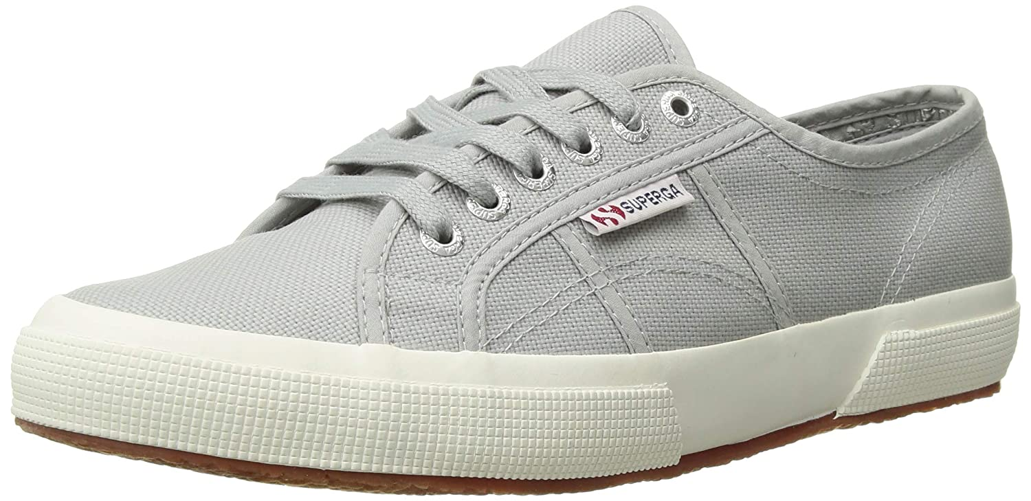 Light Grey 13 D(M) US Superga Unisex Adult 1705 Cotu Lace Up