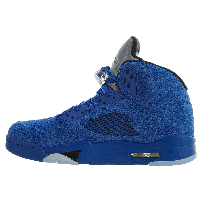 Air Jordan 5 Retro Schuhe Schuhe Schuhe Turnschuhe Neu Men´s (EU 42 US 8.5 UK 7.5, GameRoyal schwarz) 516ddd