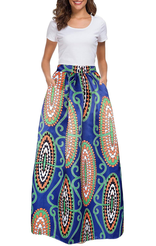 Long Printed Skirts Amazon Goldin Ma
