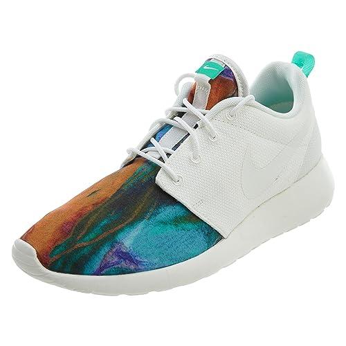 on sale c63f2 a888a ... noir sail rose foil baskets chaussures 4eb3c 3cd18  netherlands nike  mens roshe one print running shoe sail sail menta 90e86 c26c5