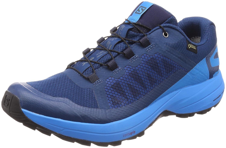 Salomon XA Elevate GTX, Zapatillas de Trail Running para Hombre 46 2/3 EU|Azul (Poseidon/Hawaiian Surf/Black 000)