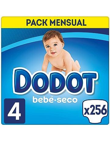 1f87e449493a Dodot Bebé-Seco Pañales Talla 4, 256 Pañales, El Unico Pañal Con Canales