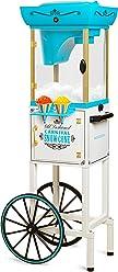 Nostalgia SCC399 Snow Cone Cart - 48 Inches Tall