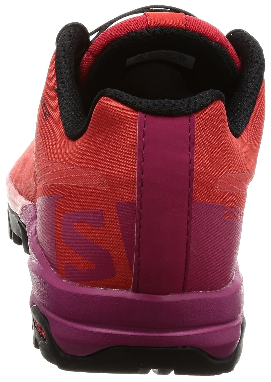 Salomon Outpath GTX Hiking 8 Shoe - Women's B01MSPT8LY 8 Hiking B(M) US|Poppy Red, Sangria, Black dcbcdb