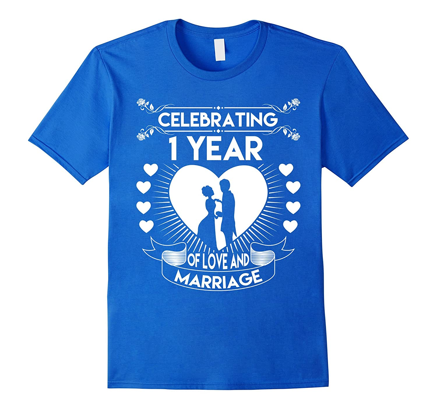 1 Year 1st Wedding Anniversary Gifts & Ideas Couple T