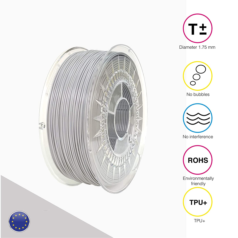 EOLAS 3D vollfarbendruck TPU+ Filament 1.75 mm Made in Europe, Europe, Europe, Food safe, Toys safe Certified (1 Kg Blau) B07D3C5SQ6 Filament-3D-Druckmaterialien 43ae50