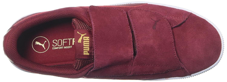 PUMA Women's M Vikky Platform Velcro Sneaker B072KGCR3B 9 M Women's US|Red Dahlia-red Dahlia 5fde16