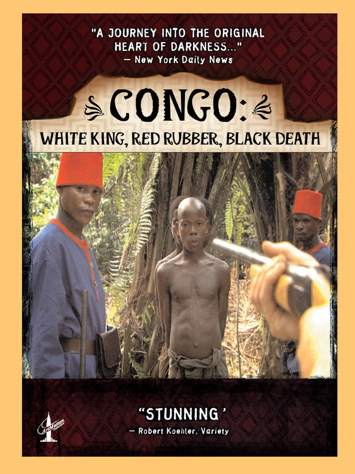 Congo: White King, Red Rubber, Black Death on Amazon Prime Video UK