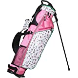 Glove It Exclusive Nine & Wine Mini Sunday Golf Bag for Women, Lightweight with Stand, 4-Way Divider, 3 Easy-Access Pockets,