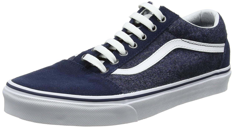 Vans Old Skool, Zapatillas de Entrenamiento para Hombre 46 EU Azul (Suede/Suiting)