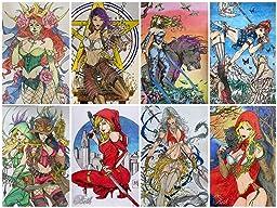 Grimm Fairy Tales Adult Coloring Book Zenescope Jamie