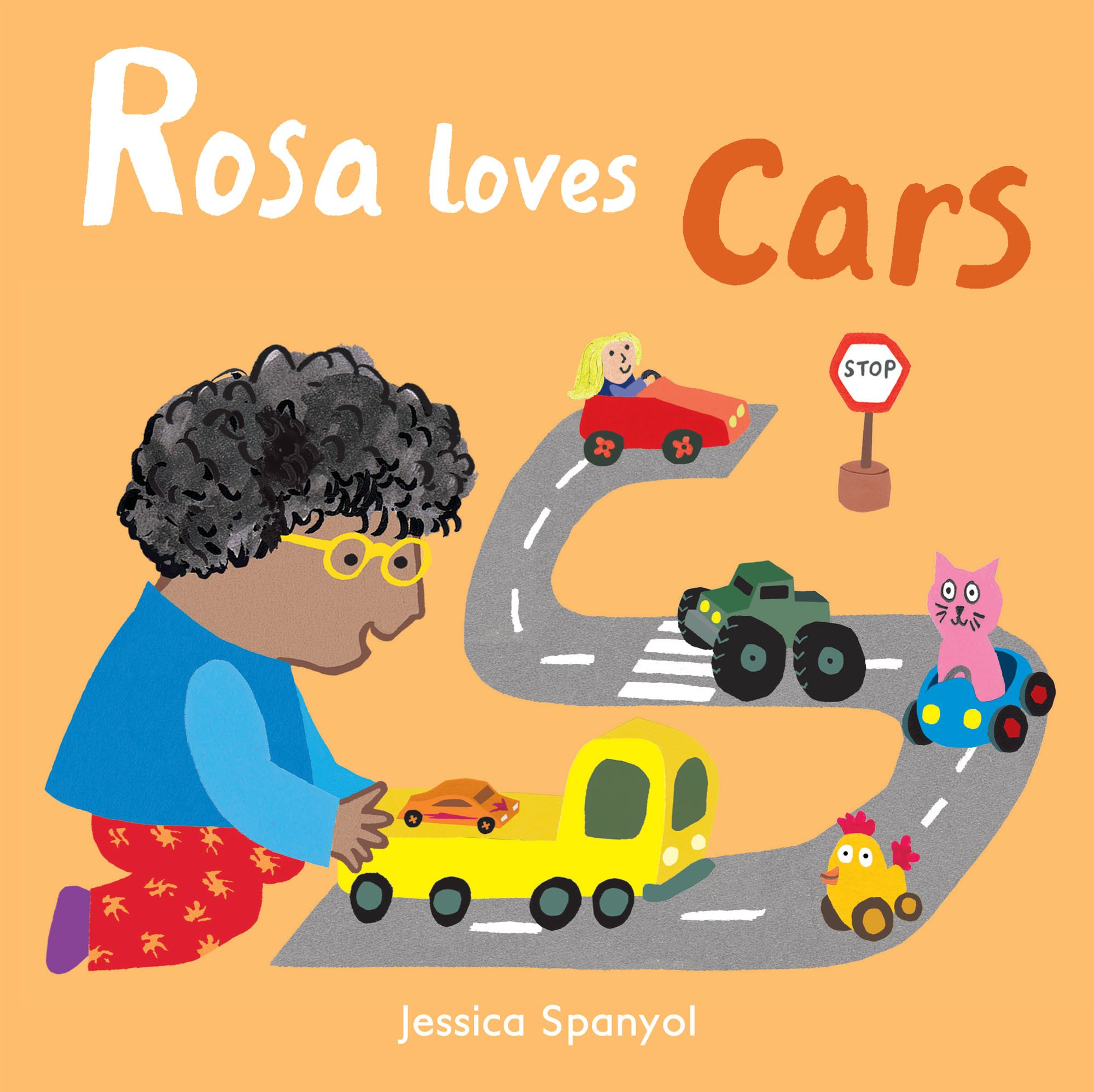 Rosa Loves Cars (All about Rosa): Jessica Spanyol, Jessica Spanyol: 9781786281258: Amazon.com: Books
