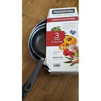 Amazon Com Tramontina Set Of 3 Saute Pans Kitchen Amp Dining