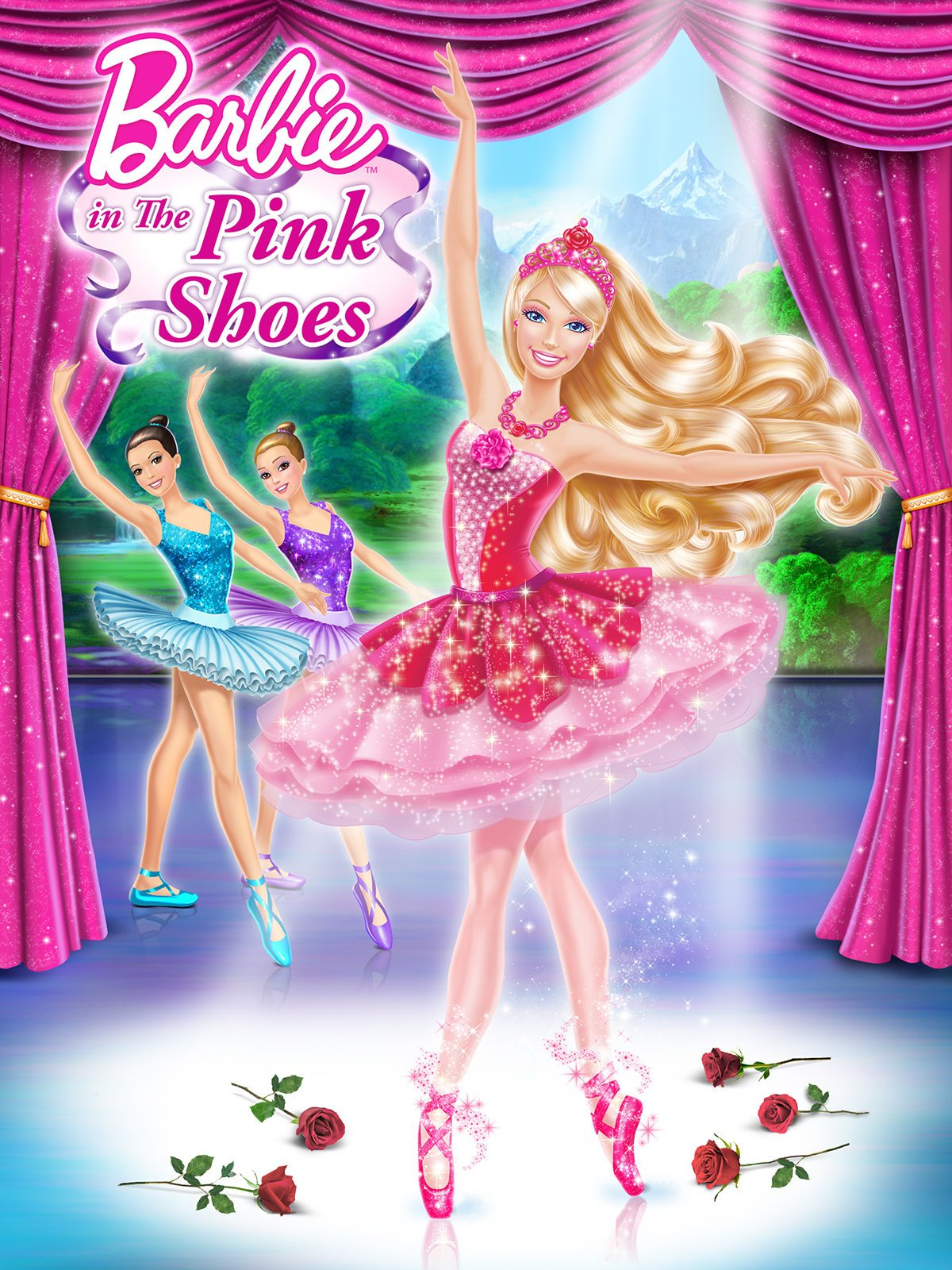 Uncategorized Barbie And The Pink Shoes amazon com barbie in the pink shoes kelly sheridan katie crown ali liebert tabitha st germain digital services llc
