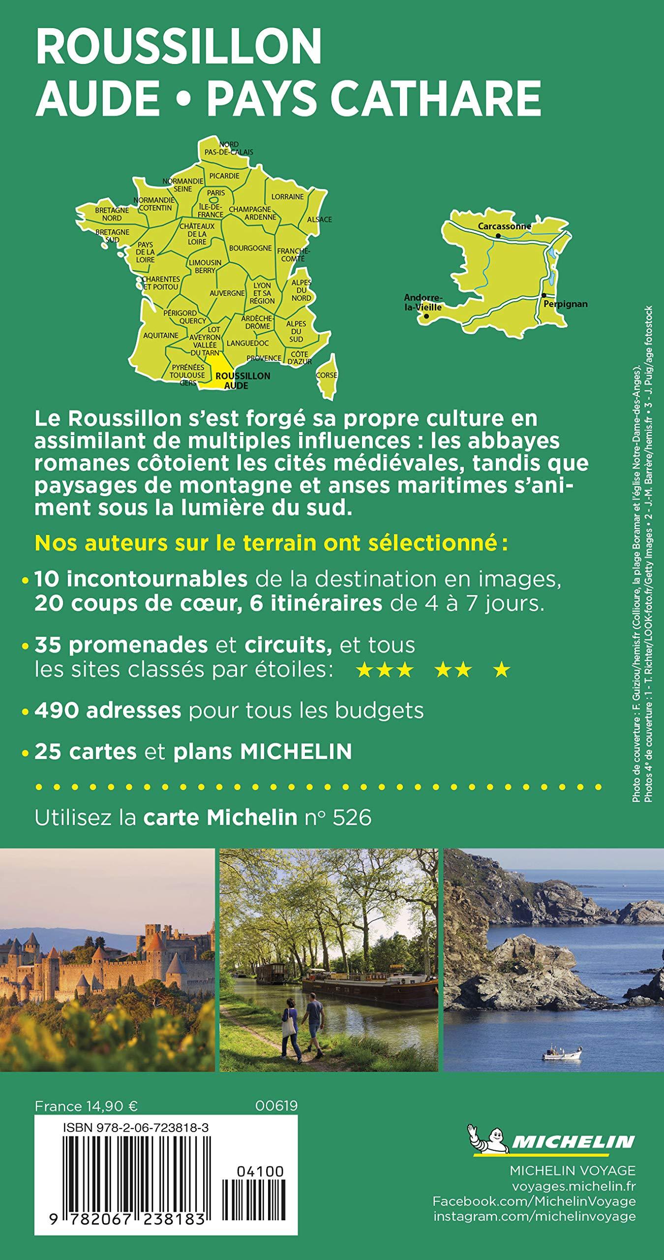 Roussillon Aude Pays Cathare (Le Guide Vert) : Amazon.es: MICHELIN: Libros en idiomas extranjeros