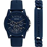 Armani Exchange Men's Chronograph Watch With Leather, Steel or Silicone Band