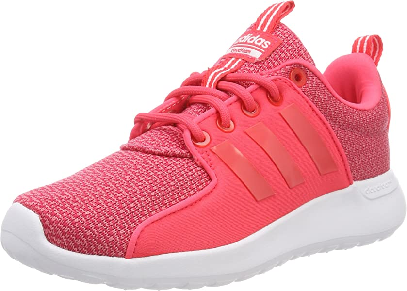 c3dd13880f6556 ... shop amazon adidas neo women running shoes cloudfoam lite racer  training pink db0628 us 5 road