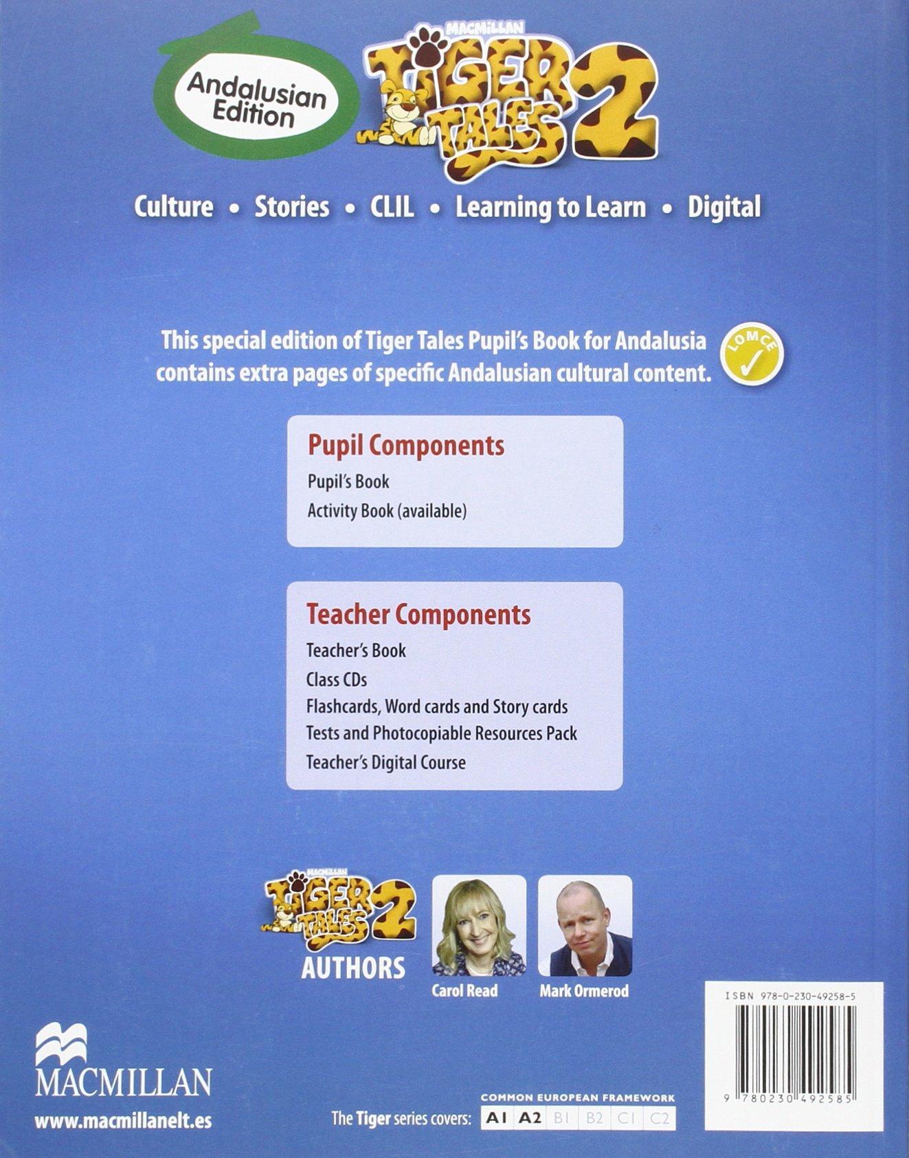 TIGER 2 Pb Andalusian - 9780230492585 Tiger Andalucia: Amazon.es: Read, C., Ormerod, M.: Libros en idiomas extranjeros