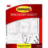 Command General Purpose Variety Kit, Hangs Up to 19 Items, Organize Damage-Free