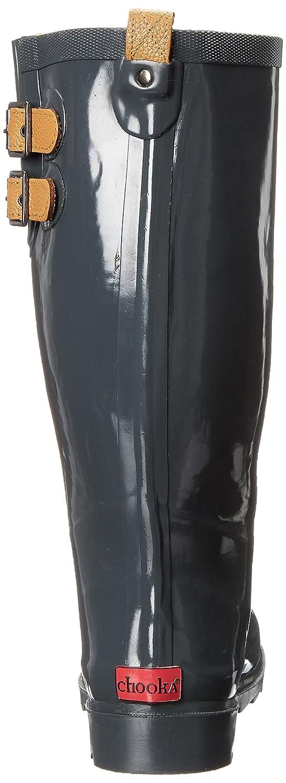 Chooka B00J57X9P2 Women's Tall Rain Boot B00J57X9P2 Chooka 10 B(M) US Charcoal fbc022
