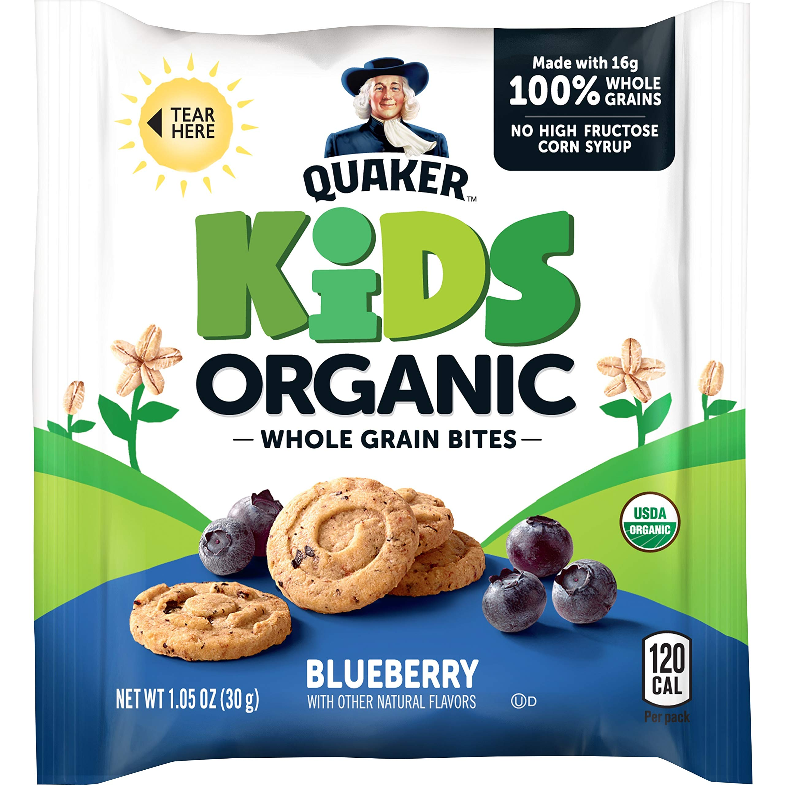 Quaker Kids Organic Whole Grain Bites