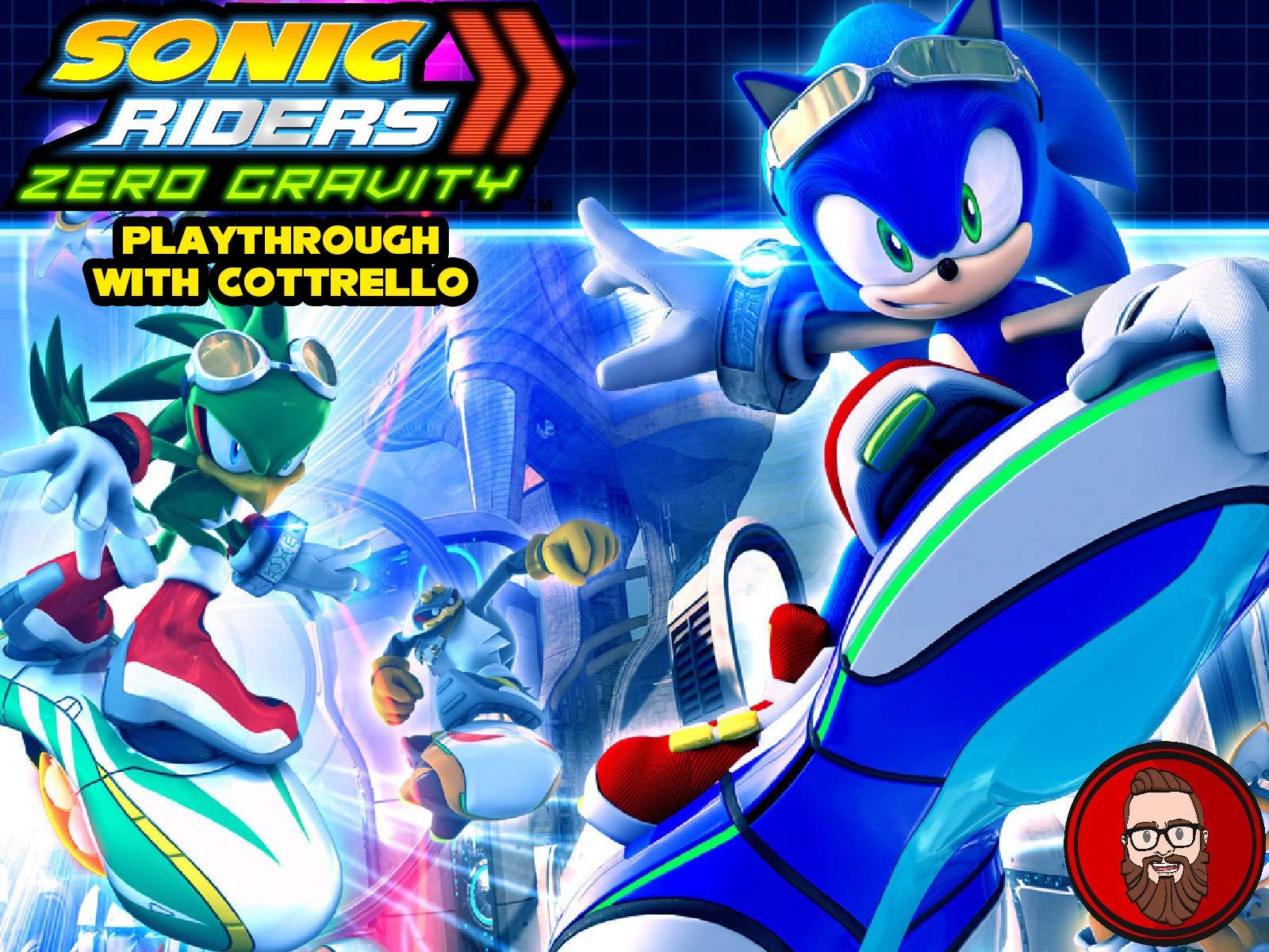 Amazon Com Watch Sonic Riders Zero Gravity Playthrough With Cottrello Prime Video