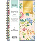 """Day Designer for Blue Sky 2020-2021 Academic Year Weekly & Monthly Planner, Flexible Cover, Twin-Wire Binding, 5"""" x 8"""", Climb"""