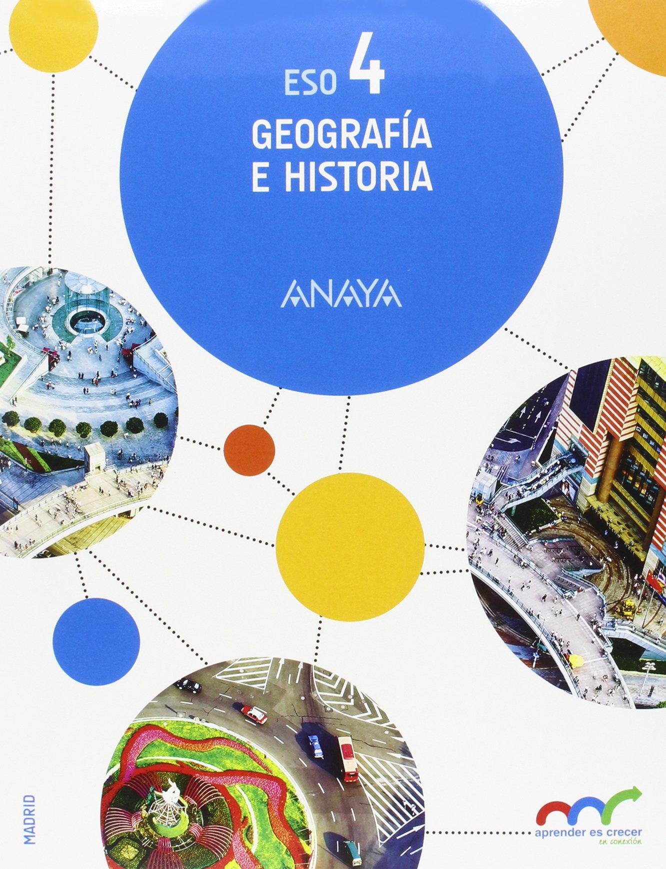 Geografía e Historia 4 Aprender es crecer en conexión: Amazon.es ...