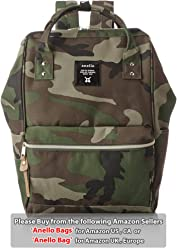 [100% AUTHENTIC] POLYESTER BACKPACK LARGE (CAMOUFLAGE)