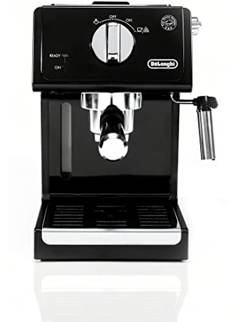 6ff2fe1d246 De'Longhi ECP3120 15 Bar Espresso Machine with Advanced Cappuccino System,  Black/Stainless