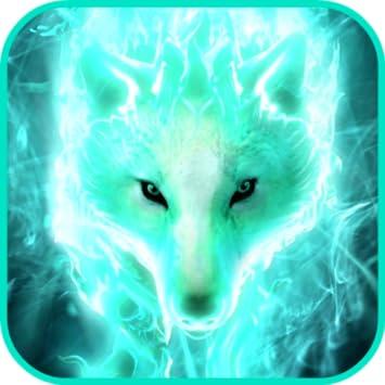 Wallpaper Cool Mystical Wolves