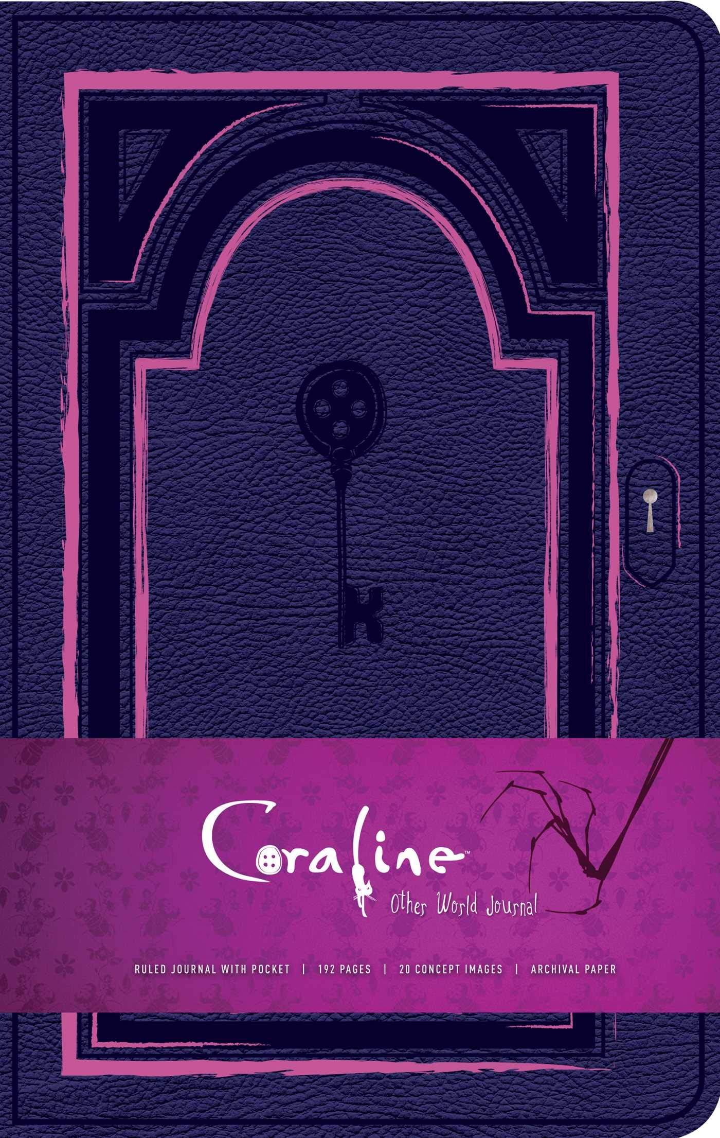 Amazon Com Coraline Hardcover Ruled Journal 9781683837558 Insight Editions Books