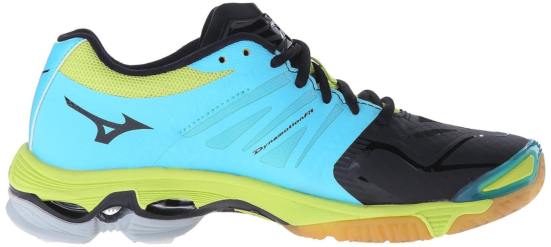 Mizuno Women's Wave D Lightning Z2 Volleyball Shoe B017UOV638 11 D Wave US|Black/Blue Atoll 1f3995