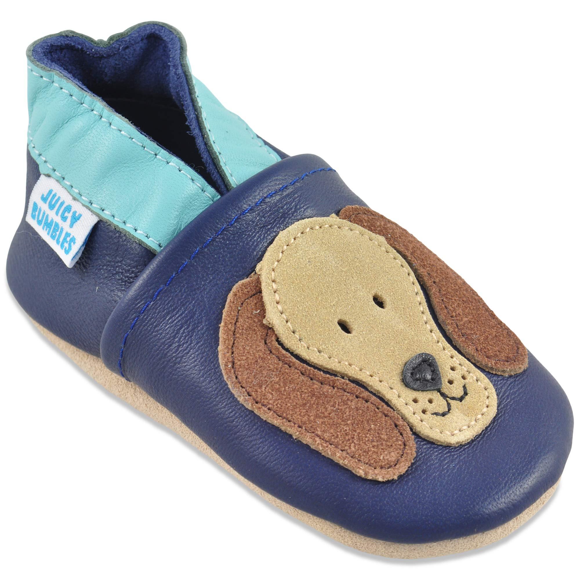 5e101a7cb78b2 Juicy Bumbles Chaussures Bébé - Chaussons Bébé - Chaussons Cuir Souple - Chaussures  Cuir Souple Premiers