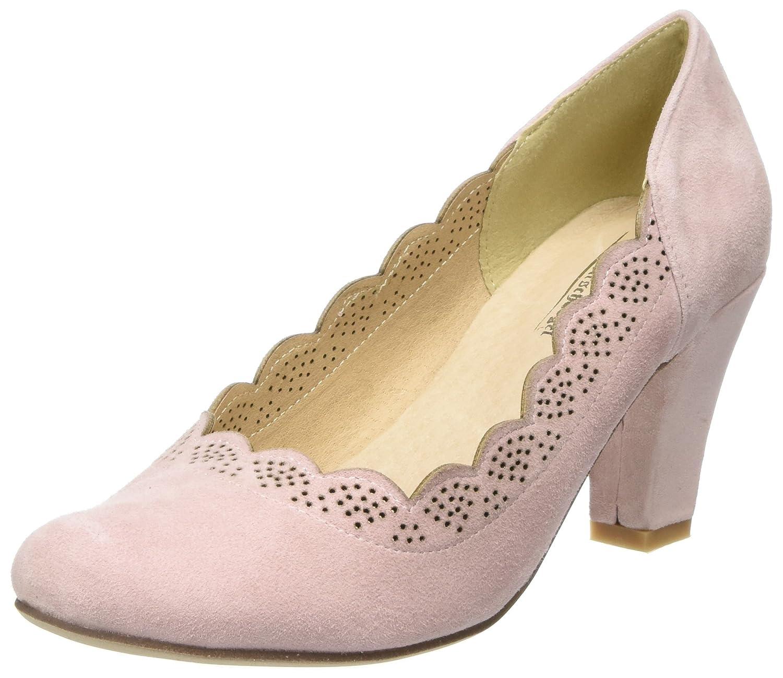 Hirschkogel 3003409, Zapatos de Tacón con Punta Cerrada para Mujer 36 EU|Rosa (Rosa 022)