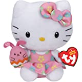 Basket of Babies Ty Hello Kitty - Easter Pink Bunny